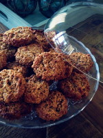 Jude Blereau's Date & Ginger Oat Cookies